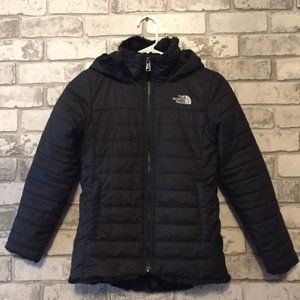 The North Face Girl's Mossbud Swirl Parka Size S